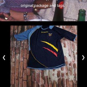 Ecuador men's soccer jersey